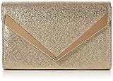 Swankyswans - Tina Envelope Sparkle, Carteras de mano Mujer, Dorado (Gold), 5x14x22.2 cm (W x H x L)