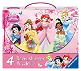 Ravensburger 07267 2x 64/2x 81 Pieces – Disney Princess: Princess in rose garden Case