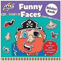 Galt Funny Faces Sticker Book by Galt America