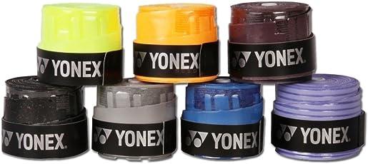 Yonex Etec Badminton Grip, Pack of 8 (Assorted)