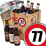 DDR Bierbox | Zahl 77 | Geschenk Idee Papa | Bier Set