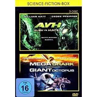 Trash Asylum Box - AVH Alien vs. Hunter & Mega Shark vs. Giant Octopus [2 DVDs]