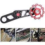 Bike Jockey Wheels, Chain Stabilizer Folding Bike Rear Derailleur Guide Chains Single Speed Controller