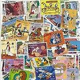 Collection de timbres Walt Disney oblitérés - 50 timbres différents