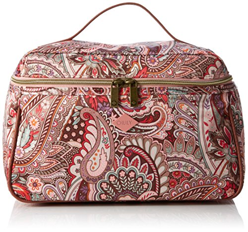 Oilily Damen L Beauty Case Kosmetiktäschchen, Pink (Vintage Pink 329), 29x13x20 cm