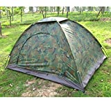 #6: 2-3 PERSON CAMO COLOURED PICNIC HIKING CAMPING PORTABLE TENT RBS