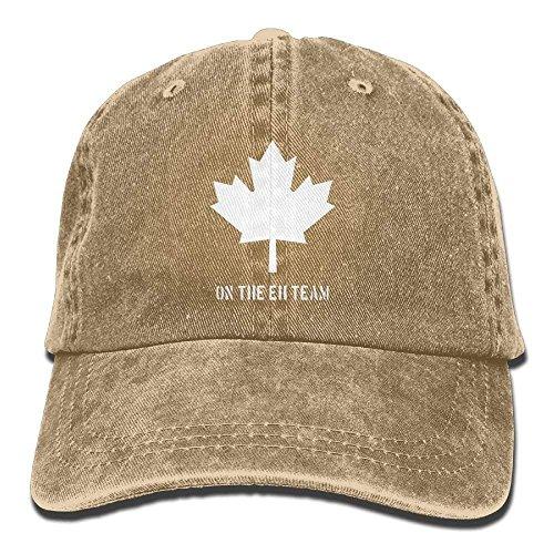 Jxrodekz Kanada auf dem Eh-Team Adult Cowboy HAT EE653