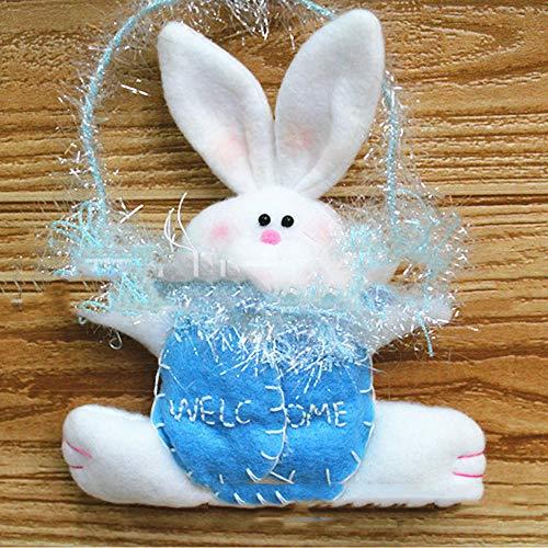 Pascua Mejor decoración para el hogar! Beisoug Home Tree Ornament Rabbit Hanging...