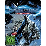 Batman v Superman: Dawn of Justice Ultimate Edition Illustrated Artwork - Steelbook