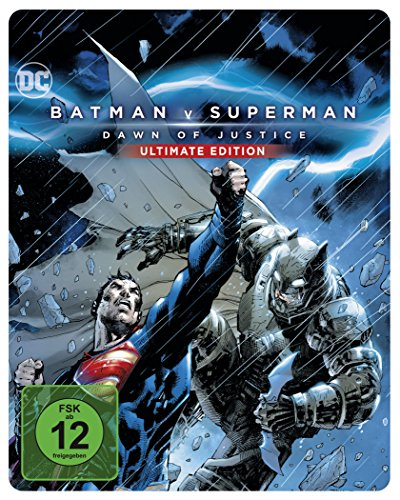Batman v Superman: Dawn of Justice als Steelbook mit Illustrated Artwork (Limited Edition exklusiv bei Amazon.de) [Blu-ray]