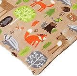 CRS Fur Fabrics Doppio Ultra-Morbido Cuddlesoft Pile Tessuto Materiale Animali del Bosco Beige