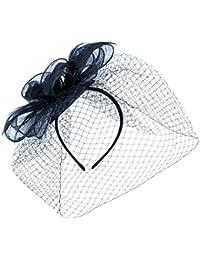 Serre-Tete a Voilette McBURN chapeau de fete