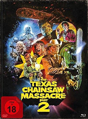 The Texas Chainsaw Massacre 2 - Mediabook/Limitiert auf 1000 Stück (+ DVD + Bonus-Blu-ray)