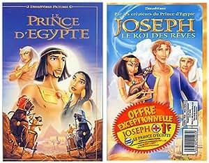 Joseph, le roi des rêves / Le Prince d'Egypte [VHS]