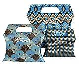 Confezione regalo, buste regalo, sacchetto regalo, scatola regalo, Borsone, borsa pieghevole, Cuscino Scatole, Sacchetti regalo, sacchetti da harmonym oments Blau