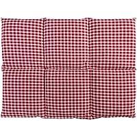 Kirschkernkissen groß 40x30 | 6-Kammer | rot-weiß | Wärmekissen Körnerkissen preisvergleich bei billige-tabletten.eu