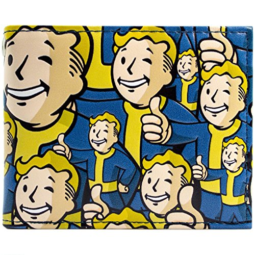 humbs Up Vaultboy Drucken Blau Portemonnaie Geldbörse (Bobblehead Kostüme)