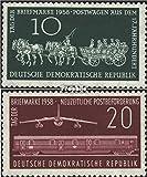 Prophila Collection DDR 660-661 (kompl.Ausg.) 1958 Tag der Briefmarke (Briefmarken für Sammler) Eisenbahn
