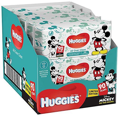 Huggies Baby Feuchttücher Disney, zufällige Special Edition (10x56 Tücher) -