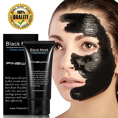 finewind-blackhead-remover-cleaner-purifying-deep-cleansing-acne-black-mud-face-mask-peel-off