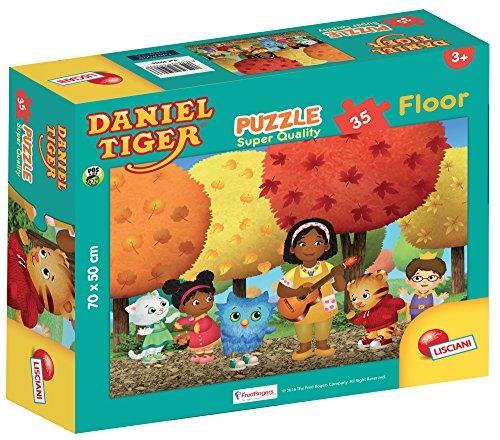Lisciani giochi 59966 - puzzle sq floor 35 daniel tiger