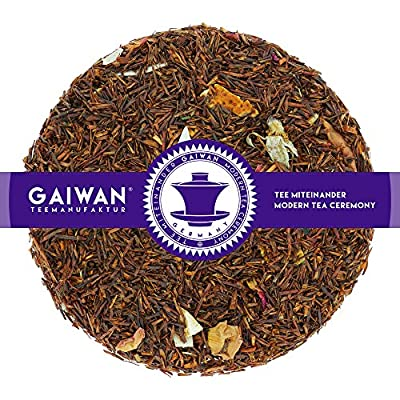 """N° 1187: Thé rooibos """"Rêve tropical"""" - feuilles de thé - GAIWAN® GERMANY - rooibos, orange, pommes, flocons de noix de coco, rose"""