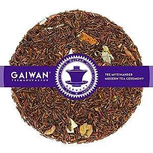 """N° 1187: Thé rooibos""""Rêve tropical"""" - feuilles de thé - 100 g - GAIWAN GERMANY - rooibos, orange, pommes, flocons de noix de coco, rose"""