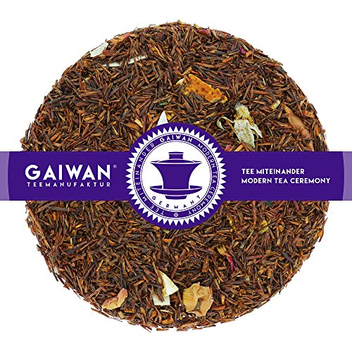 "Nr. 1187: Rooibostee ""Tropical Dream"" - 250 g - GAIWAN® TEEMANUFAKTUR - Orange, Apfel, Kokosflocken, Rose, Roibusch Tee, Rotbuschtee Lose, Reubusch Tee, Rooibos Loose Leaf"