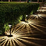 GGSSYY Solarleuchten/Outdoor/Gartenleuchten/Home/Super Bright/LED/Abdichtung/Bodenbeleuchtung, warmweißes Licht (mit Sockel und verstopft)