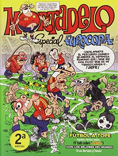 Especial Eurocopa 2012 (Números especiales Mortadelo y Filemón) (Bruguera Clásica)