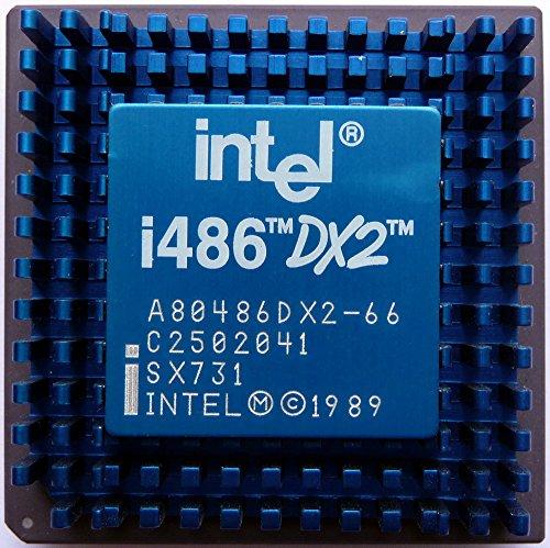 Intel-CPU st486dx2-66GS 5Volt, md6j pabmdcb p525419t-486DX2-66 Intel Pda