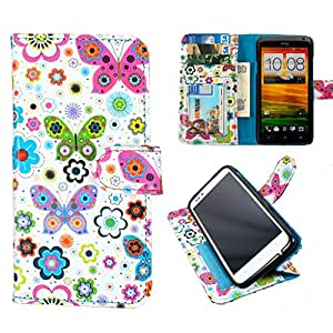 DooDa PU Leather Wallet Flip Case Cover With Card & ID Slots & Magnetic Closu...