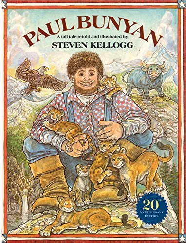 Paul Bunyan (Reading rainbow book) by Steven Kellogg (2004-02-03)