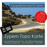 CIPRO Garmin Topo 4GB microSD. topogra pesci GPS tempo libero carta per bicicletta da trekking, escursioni trekking Geocaching & Outdoor. dispositivi di navigazione, PC e Mac
