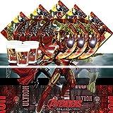 Kit de fête complet Les Avengers L'Ère d'Ultron pour 16 personnes