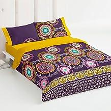 Burrito Blanco - Juego de funda nórdica 334 Multi, para cama de 105 x 190/200 cm.