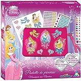 Orb Factory ORB11184 - Loisirs Créatifs - Pochette Disney Princesses Aurora, Belle, Cendrillon - Sticky Mosaiques Autocollantes aux Numéros