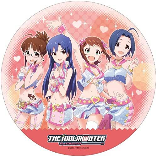 kawaii make my day idol master Idol Master Round Cushion RED (japan import)
