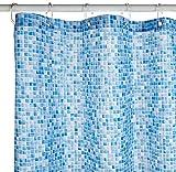 Croydex blau Schwimmbad Mosaik, Polyester, Blue Mosaic, 1 x 180 x 180 cm