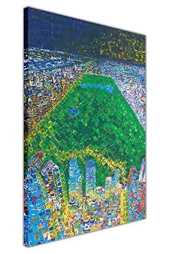 Park Rahmen (New York City Central Park auf Rahmen Leinwand Wand Art Prints Ölgemälde Nachdruck Home Dekoration Bilder, canvas, 02- A3 - 16