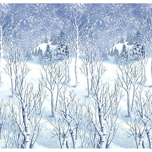 amscan International Scene Setter Rolle Winter Wonder
