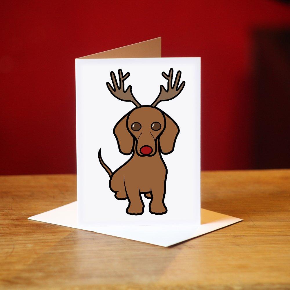 Dachshund Christmas Cards: Amazon.co.uk: Kitchen & Home