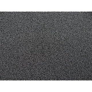 Filter Foam Filter PPI 60very fine–Charcoal/Black, 1x 1m x 5cm 100X100X5CM Filter Pad Self Cut Foam/Rain Water Filter Koi Fish Shrimp Breeding Filter Foam Mat Air Filter Foam Filter Pad Pond Filter Pad