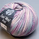 "Lana Grossa Merino superfein ""Cool Wool"" 792 print"