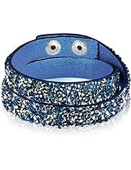 Rafaela Donata - Bracelet fashion cristal de verre - En différentes longueurs, bracelet cristal de verre - 60917040