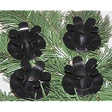 Adventskranz kerzenhalter 5 cm schwarz