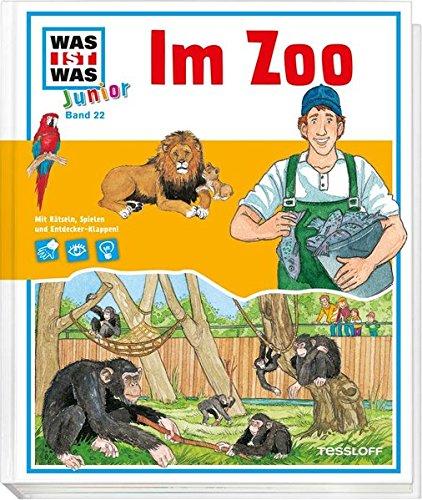 and 22. Im Zoo: Was macht Affen Spaß? Wie findet der Löwe sein Futter? ()