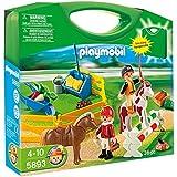 Playmobil - Granja de ponis, maleta (58930)