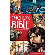 The Action Bible New Testament: God's Redemptive Story (Action Bible Series) (English Edition)