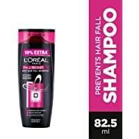 L'Oreal Paris Fall Resist 3X Anti-Hairfall Shampoo, 75ml (With 10% Extra)
